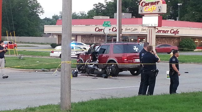 Two Critical When Motorcycle, SUV Collide On Tulsa Street