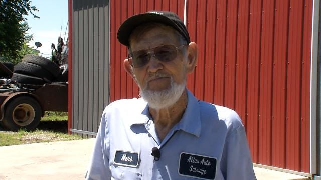 80-Year-Old Tulsa Robbery Victim Happy To Survive