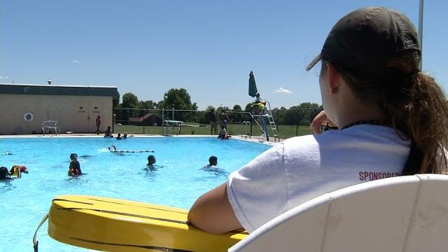 City Of Tulsa Training New Lifeguard Recruits