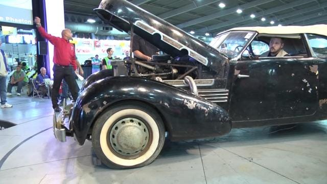 Son Sells 'The Lost Cord' In Tulsa Leake Car Auction