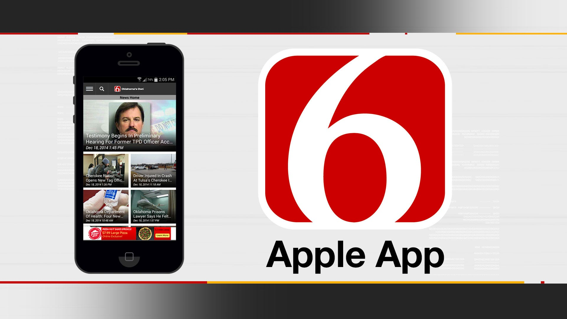 Download The NEW News On 6 App NOW