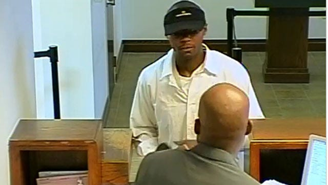 Police Searching For Tulsa Bank Robber