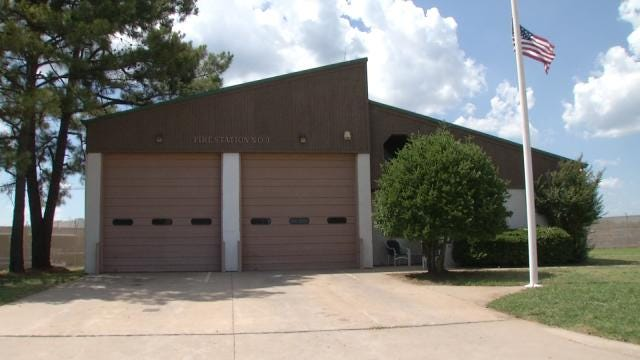 Potentially Toxic Substance Evacuates Claremore Fire Station