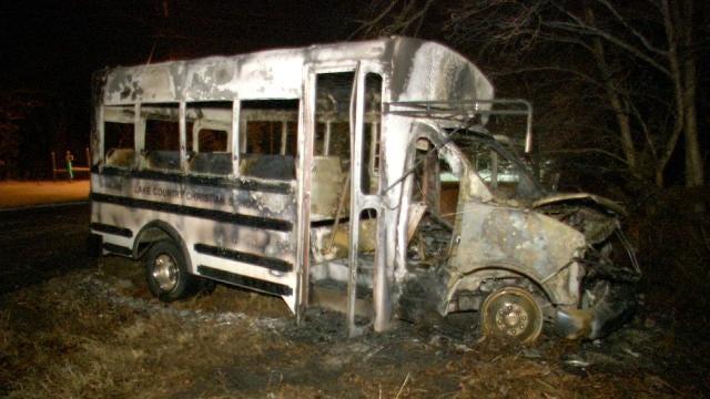 Sand Springs Police: Juvenile Steals, Crashes Church School Bus