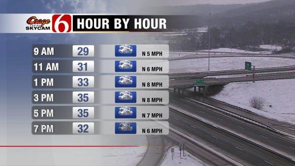 Winter Weather Advisory Expires As Crews Continue To Treat Roadways