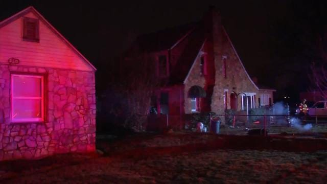 Fire Damages Tulsa Home Being Remodeled