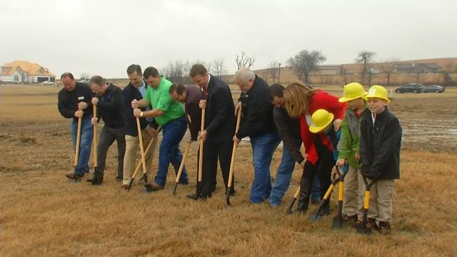 Ground Broken For New Home For Green Country Army Vet