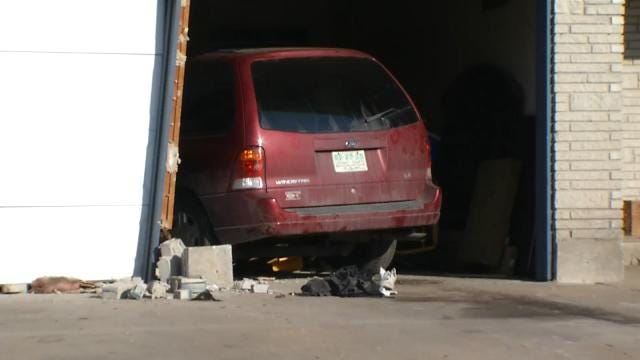 Man Working On Van Dragged Down Tulsa Street