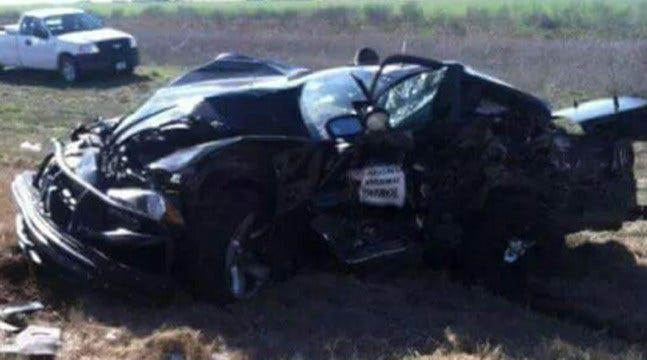 OHP Trooper Flown To Texas Hospital After Collision
