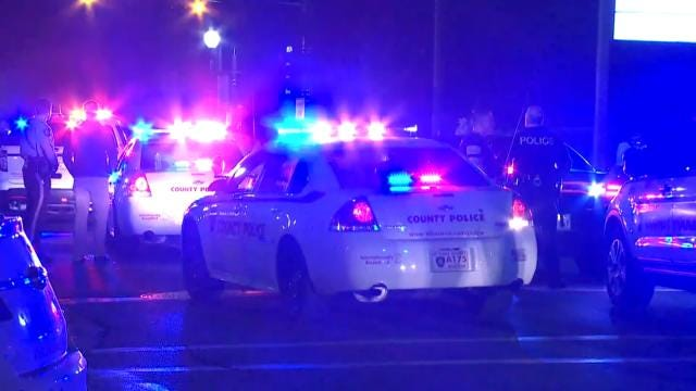 Two Police Officers Shot Outside Ferguson Police Headquarters