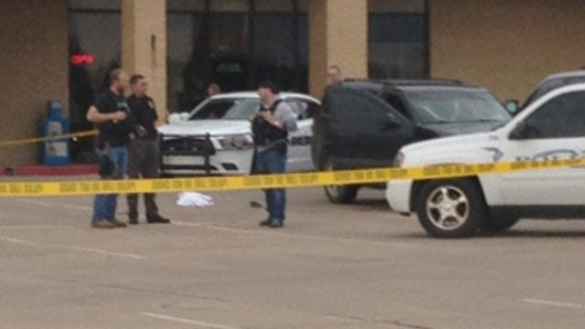 Bartlesville Police Identify Fugitive Who Shot Himself At Shopping Center