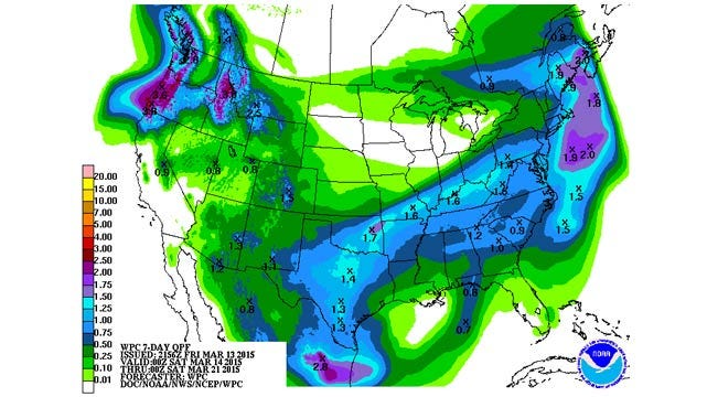 Dick Faurot's Weather Blog: Rains Ending Later Tonight
