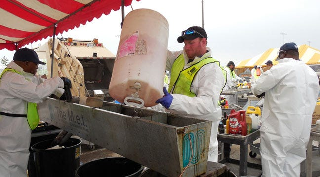 Free Tulsa County Household Pollutant Discard Event Set