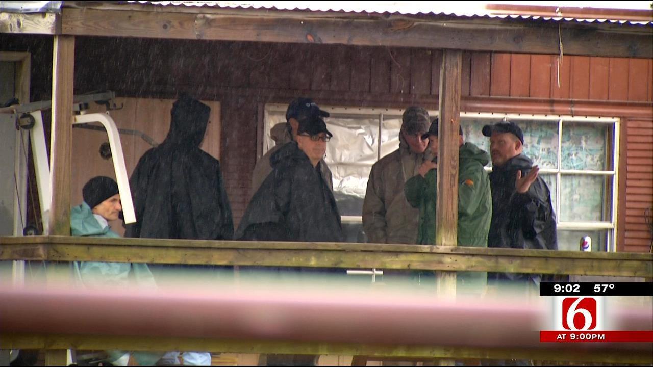 NTSB Investigators Sift Through EagleMed Crash Site In Oklahoma