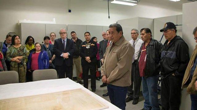 Creek Nation's '1790 Treaty Of New York' On Display In Washington