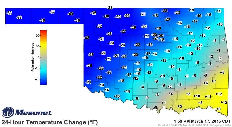 Dick Faurot's Weather Blog: Cool, Wet Wednesday