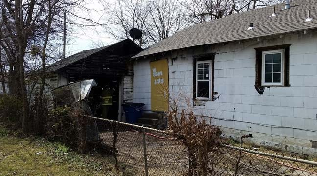 Fire In Shed Spreads To Tulsa House