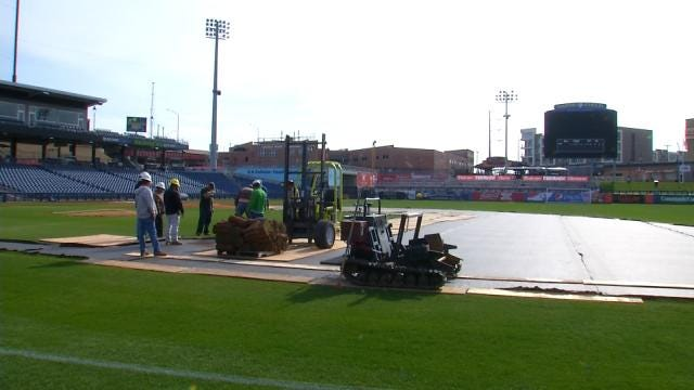 Tulsa's ONEOK Field Gets New Sod, But Not For Baseball