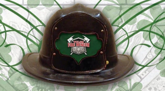Wear - And Bring - The Green To Tulsa Firefighter Museum Open House