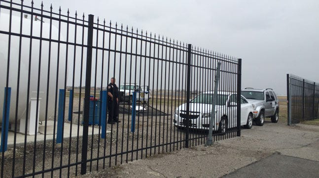 Driver Crashes Through Security Fences At Tulsa International Airport