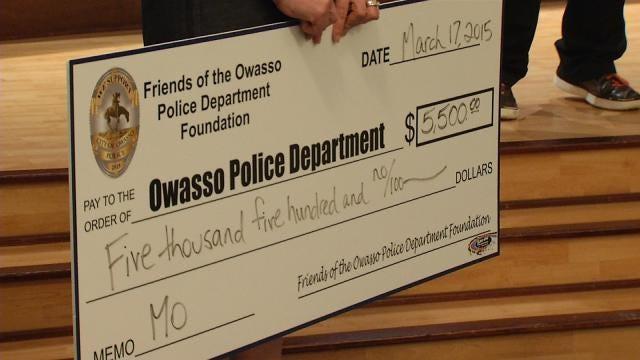 Owasso Citizens Raise Thousands For New Police Dog