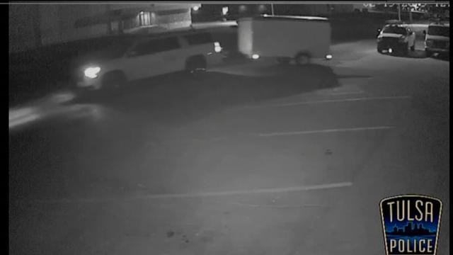 Tulsa Police Seek Tips On South Mingo Box Trailer Theft