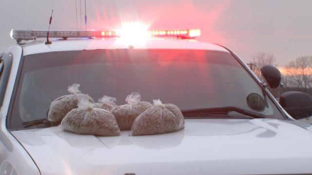 Catoosa Traffic Stop Leads Deputies To 5 Pounds Of Marijuana