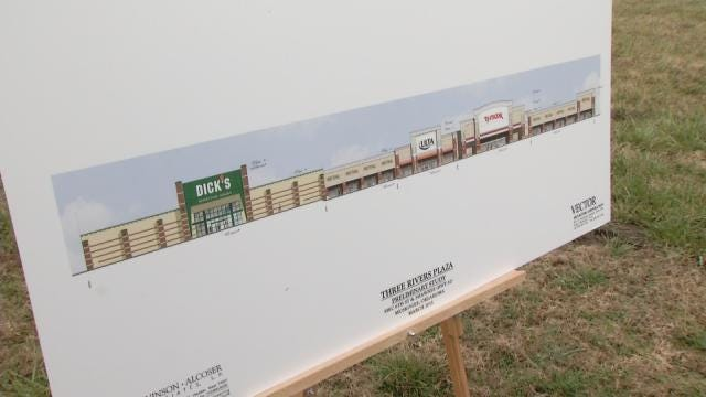 Muskogee Breaks Ground On Future Shopping Center