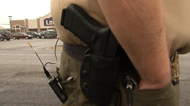 Oklahoma Police Officer, Hospital Dispute Over Sidearm