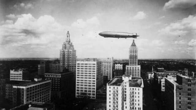 Throwback Thursday: The Day A Zeppelin Visited Tulsa