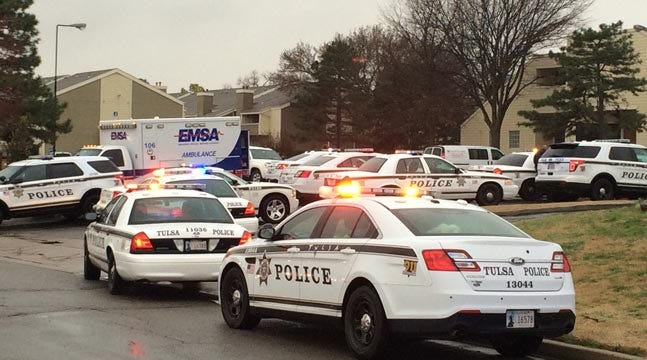 Tulsa Police: Man Barricades Self, Child; Fires Shots From Wife's Apartment