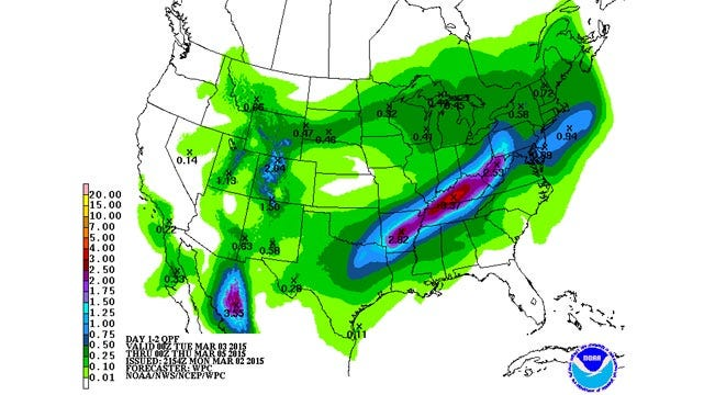 Dick Faurot's Weather Blog: Round Three on the Way