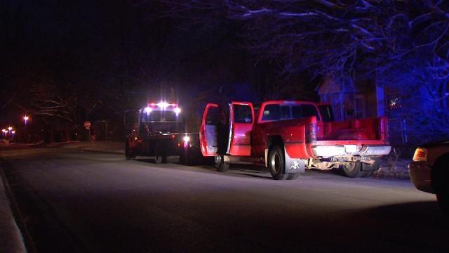 Tulsa Police Arrest Man Driving Stolen Pickup