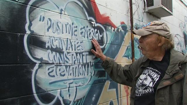 City Of Tahlequah Rules Mural Graffiti 15 Years After Painting