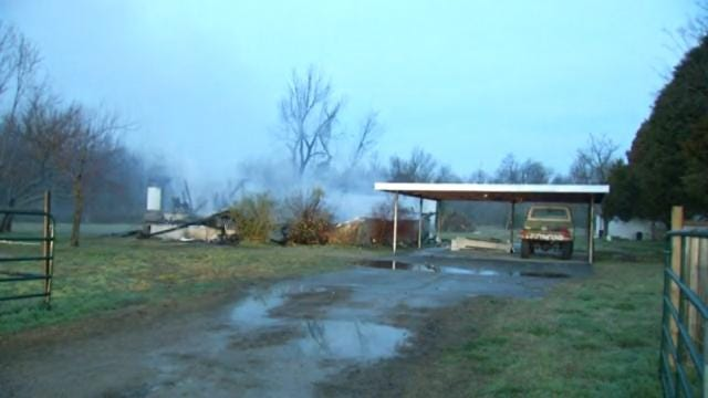 Owasso Home Destroyed By Fire Overnight