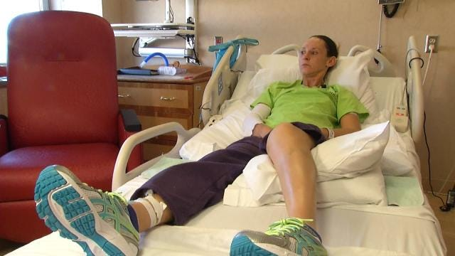 Tulsa Hit-And-Run Victim Recovering After Workzone Injury