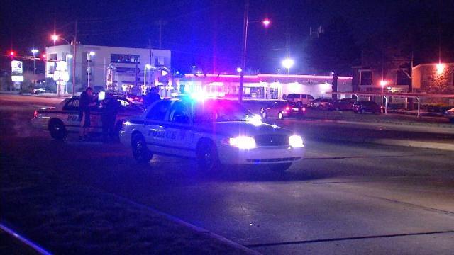 Man Struck Crossing 71st Street Early Overnight Saturday