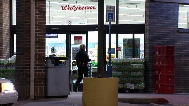Masked Man With Shotgun Robs East Tulsa Walgreens