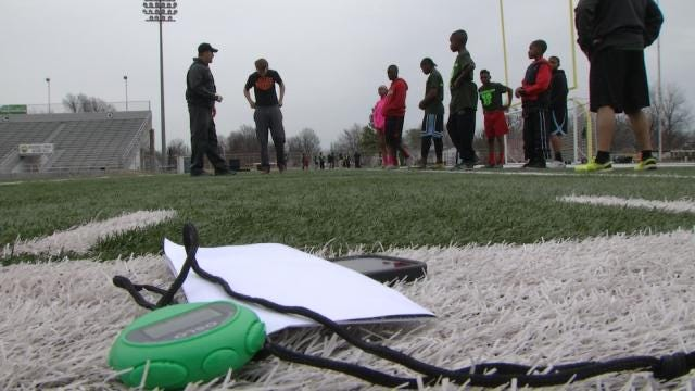 Muskogee Police Officers, Coaches Team Up To Reach Kids