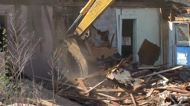 Muskogee Demolishes Derelict Homes, Offers Incentives For New