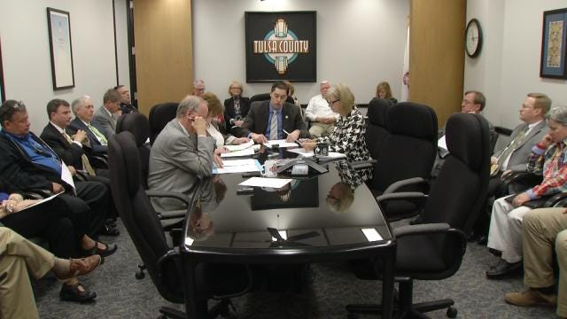 Tulsa Jail, Pools Discussed At County Meeting