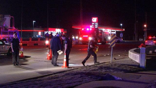 Tulsa Police Release Name Of Officer Involved In Fatality Wreck