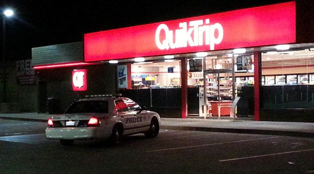 Tulsa Police Search For QuikTrip Armed Robber