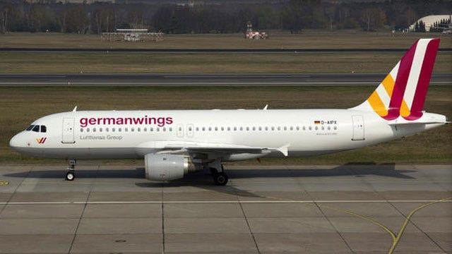 German Passenger Jet Crashes In France