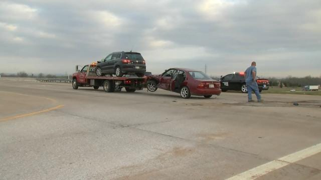 OHP: One Injured In Crash On 86th Street North At Highway 75
