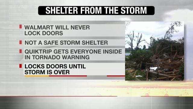 Emergency Crews Warn Oklahomans Against Sheltering In Businesses
