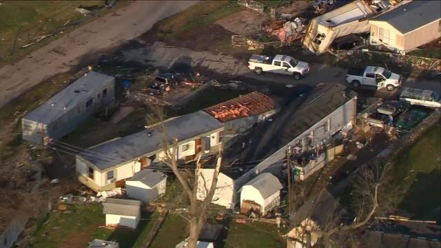 Oklahoma Governor To Tour Tulsa County Tornado Damage