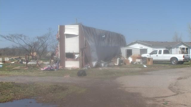 Sand Springs Families Return To Damaged Homes