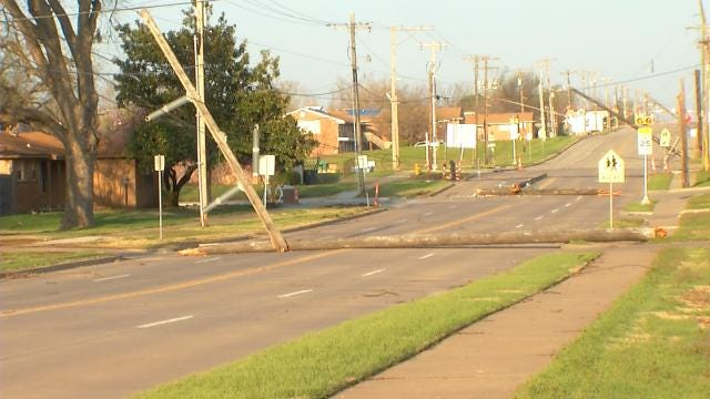 Storms Cause Problems Across Tulsa