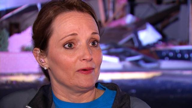 West Tulsa Gymnastics School Owner Hailed As Hero As Storm Hits